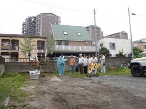 K様邸の地鎮祭が行われました。