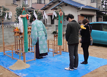 (12/16)T様邸地鎮祭