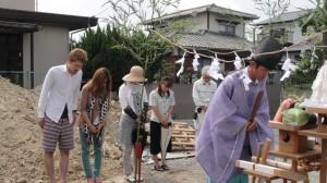 地鎮祭(八幡西区泉ヶ浦)