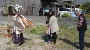 地鎮祭(久留米市城島町)