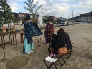 地鎮祭(小倉南区中貫)