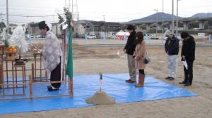 地鎮祭(西区学研都市内)