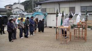 地鎮祭(筑紫郡那珂川町)
