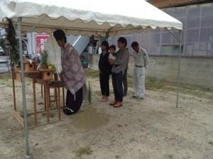 地鎮祭(早良区田村)