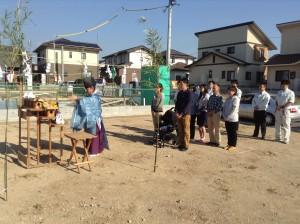 地鎮祭(長崎県大村市)