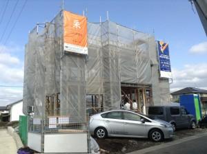 上棟式(長崎県大村市)