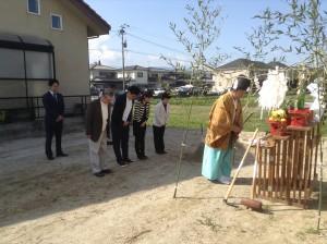 地鎮祭(糸島市前原東)